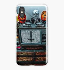 Halloween III - Say You Love Satan 80s Horror Podcast iPhone Case/Skin