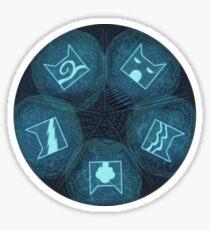 Warriors - Five Giants Wheel Sticker