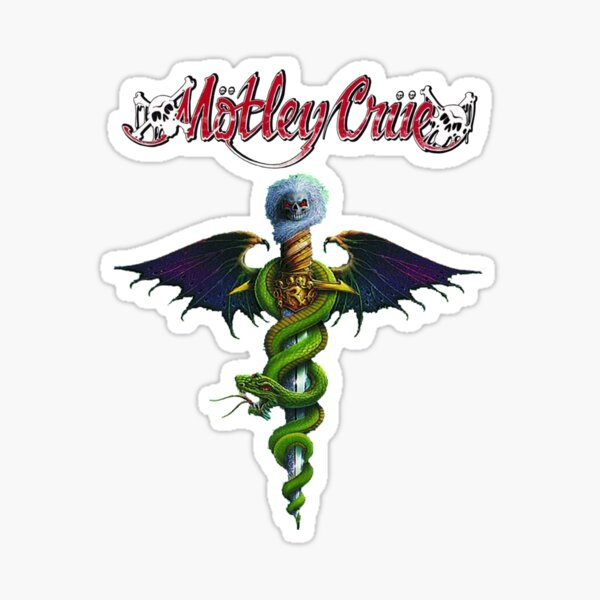 Best Of Motley Crue t Shirt Sticker