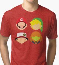 Nintendo Greats Tri-blend T-Shirt