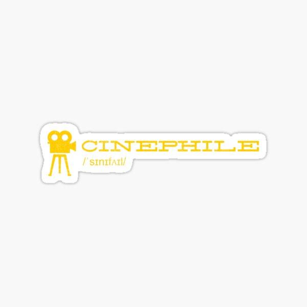 Cinephile: For Movie Lovers ♥ Sticker