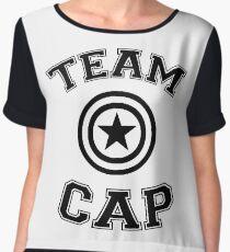 Team Cap Women's Chiffon Top