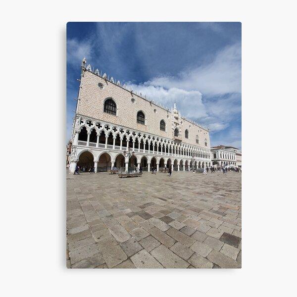 Venice Doge Palace view Metal Print