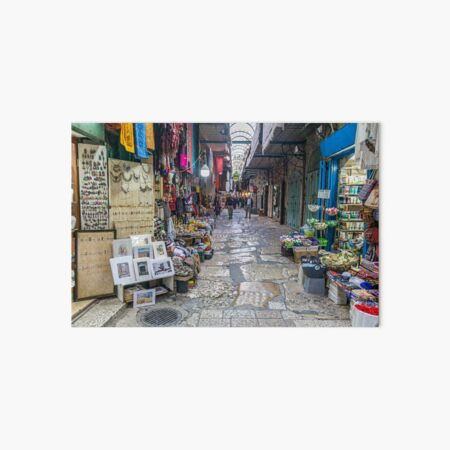 Jerusalem Old City alley Art Board Print