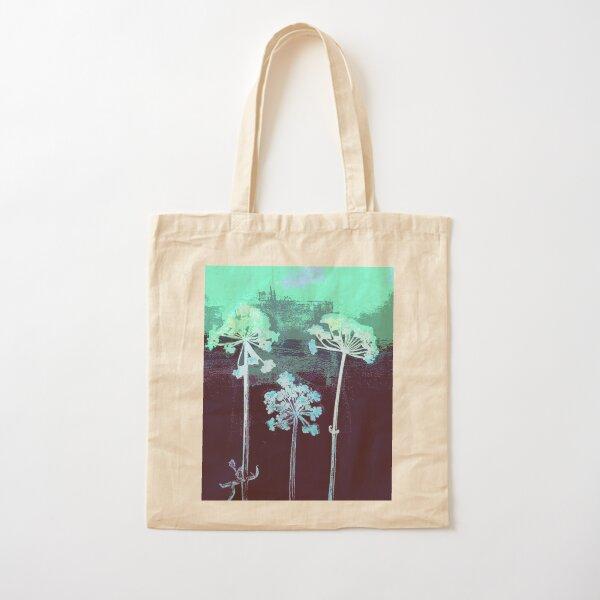 Cow Parsley blues Cotton Tote Bag