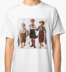 Norman Rockwell  - Catch, The  . Fishers Classic T-Shirt
