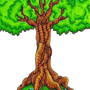Yggdrasil Tree of Life by T-Raccoon
