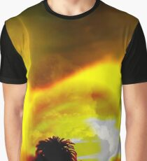 The Moon, The Sun, And Nature Kissed Graphic T-Shirt