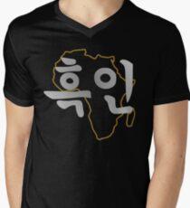 Blasian 2.0 (Korean) Men's V-Neck T-Shirt
