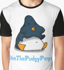 Pudgy Penguin Graphic T-Shirt