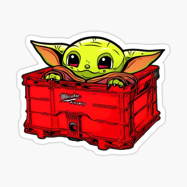 Packout Crate and Youngling Sticker