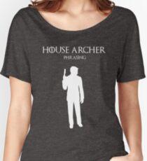 House Archer Women's Relaxed Fit T-Shirt