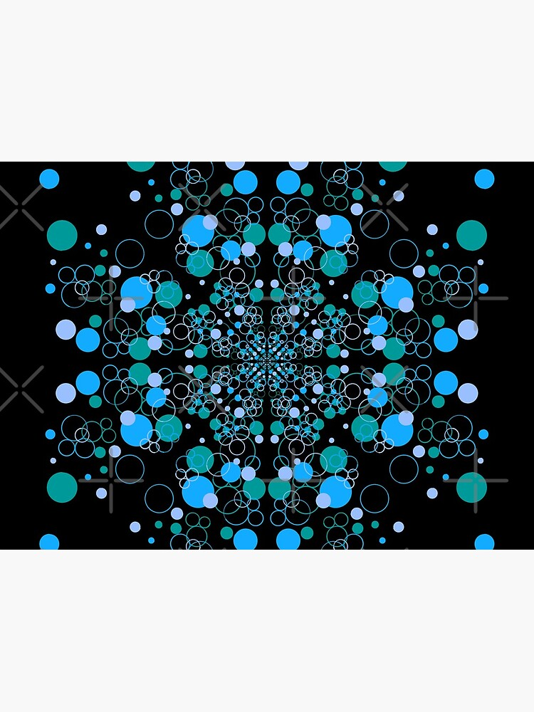 Blue Ocean Wave Symmetrical Vibes by that5280lady
