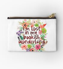 I'M LOST IN MY BOOKISH WONDERLAND  Studio Pouch