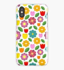 Colorful flowers iPhone Case/Skin