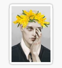 Flower crown Noah Sticker
