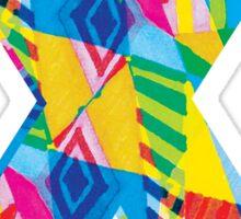 Fun Letter - X Sticker