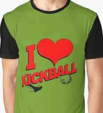 I love Kickball Graphic T-Shirt