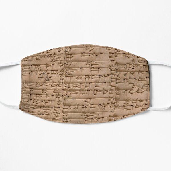 Clay Tablet, Period: Ur III (ca. 2100-2000 BC)  Flat Mask