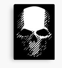 Skull of wildlands Canvas Print