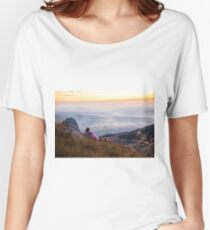 6725ft at 5:23 am Women's Relaxed Fit T-Shirt