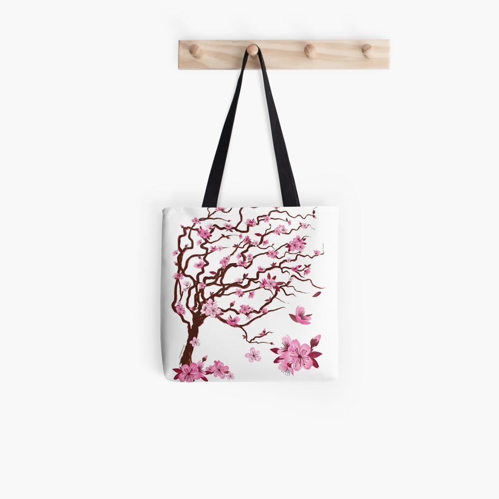 Arbol De Cerezo Japones japanese cherry tree | Árbol del cerezo japonés | tote bag