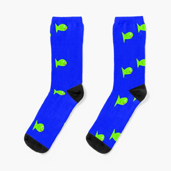 happy fishies Socks