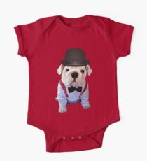 Bulldog Hat One Piece - Short Sleeve