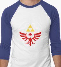 Hylian Shield - Legend of Zelda Men's Baseball ¾ T-Shirt