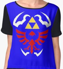 Hylian Shield - Legend of Zelda Women's Chiffon Top
