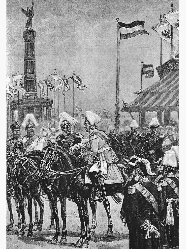 Siegessäule 1873...Inauguration Ceremony in Berlin by edsimoneit