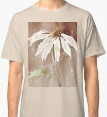 Sepia Daisy Classic T-Shirt