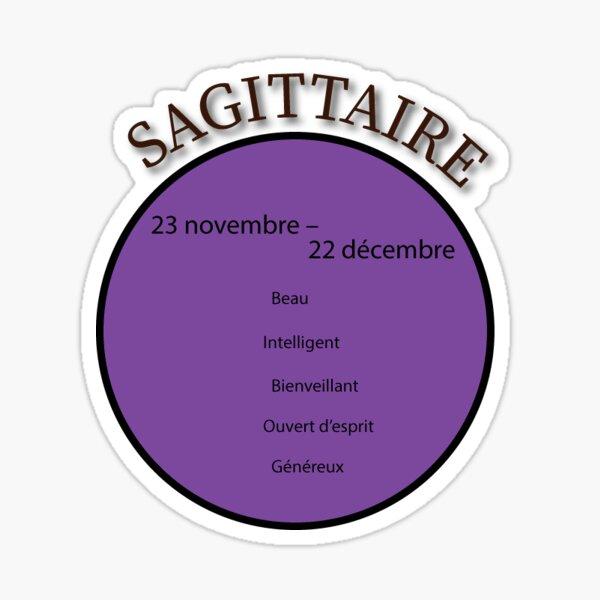 Signe astrologique du Sagittaire Sticker