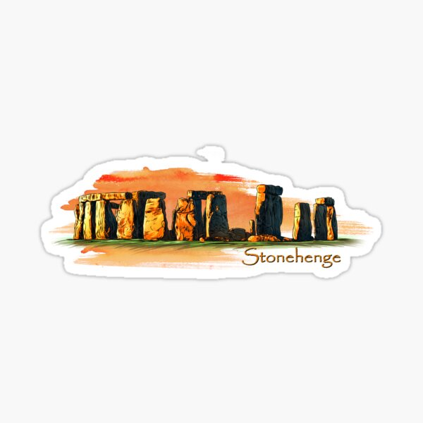 Stonehenge Sticker
