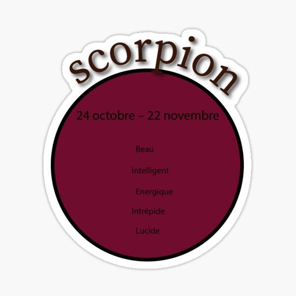 Signe astro du scorpion Sticker
