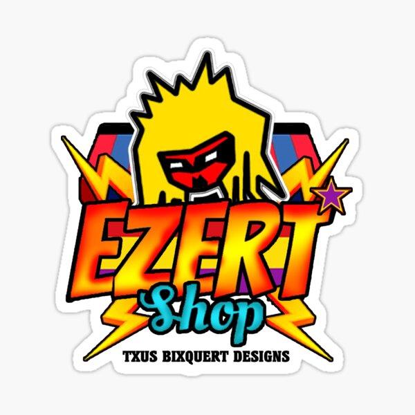 "TXUS BIXQUERT: ""Ezertshop Logo"" Pegatina"