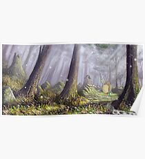Totoro's Forest Poster