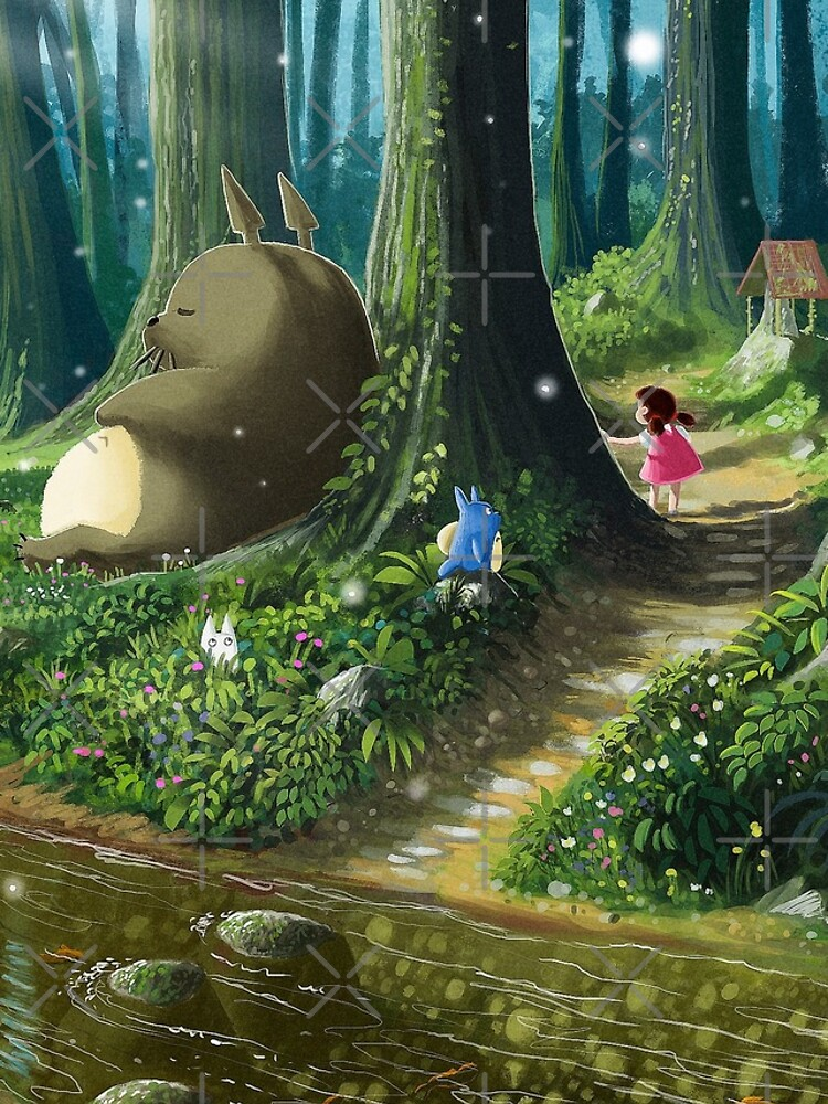 Totoro and Mei de Syntetyc