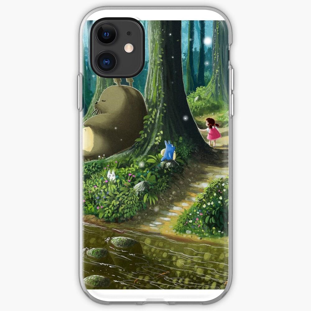 Totoro and Mei Funda y vinilo para iPhone