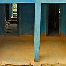 The wooden alley by queenenigma
