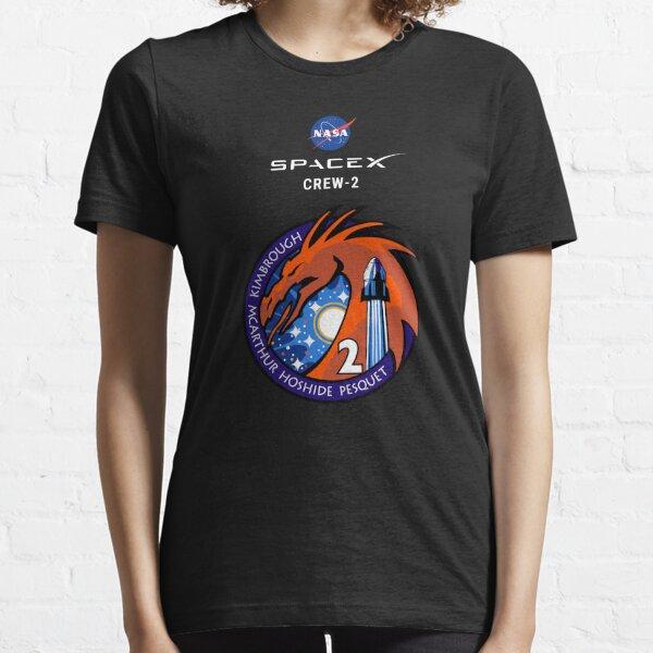 Mission SpaceX Crew 2 T-shirt essentiel
