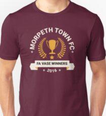 Morpeth Town FC - FA Vase Winners 2016 T-Shirt
