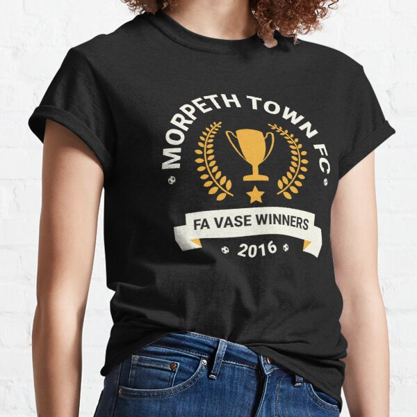 Morpeth Town FC Inspired - FA Vase Winners 2016 Classic T-Shirt