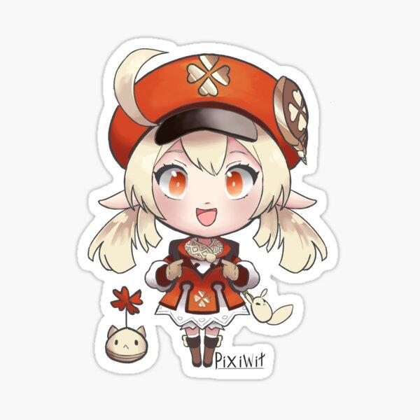 Klee chibi (Genshin Impact) Sticker