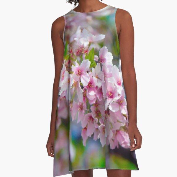 Sakura Sprinkles A-Line Dress