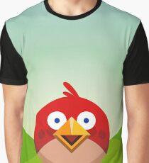 Red Bird Graphic T-Shirt