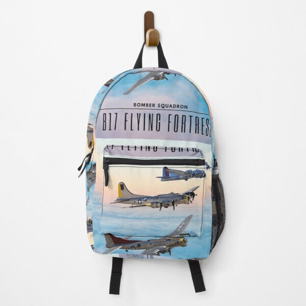 B 17 FLYING FORTRESS BOMBER SQUADRON Backpack
