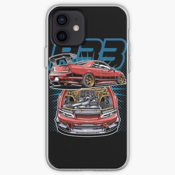 Skyline GTR 33 LS getauscht iPhone Flexible Hülle
