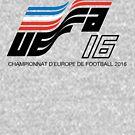 Euro 2016 - Retro Logo by westonoconnor