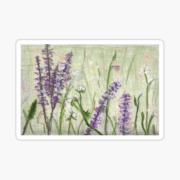 Flower Meadow Sticker
